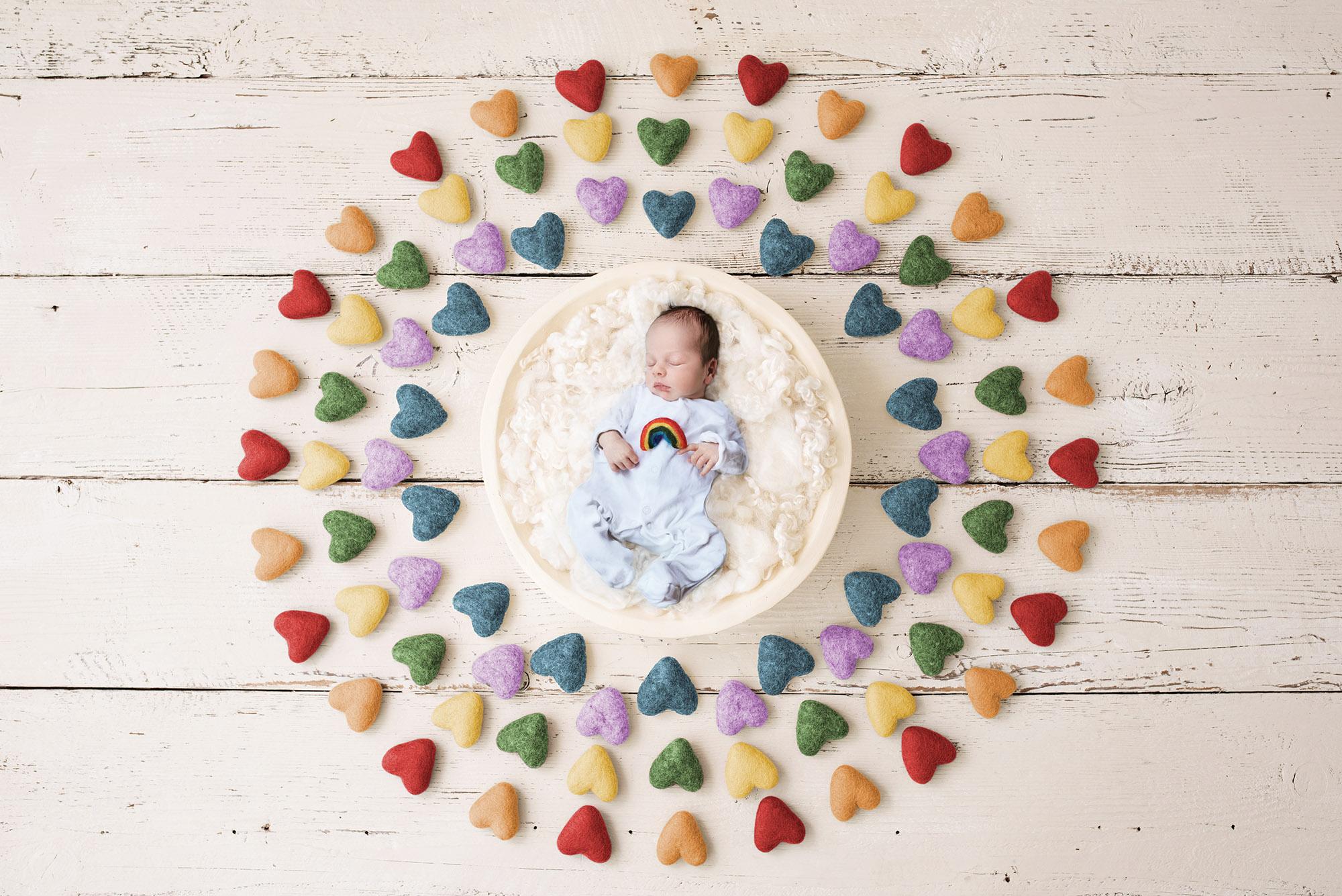 Rainbow baby newborn baby sutton coldfield