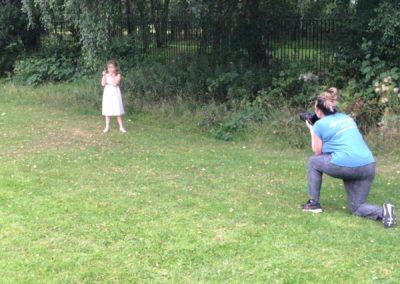 Children's outdoor portrait photographer sutton coldfield