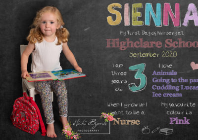 Back to school mini photography session sutton coldfield nursery pictures