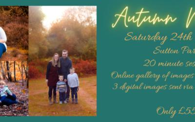 Autumn Family Mini Photoshoot