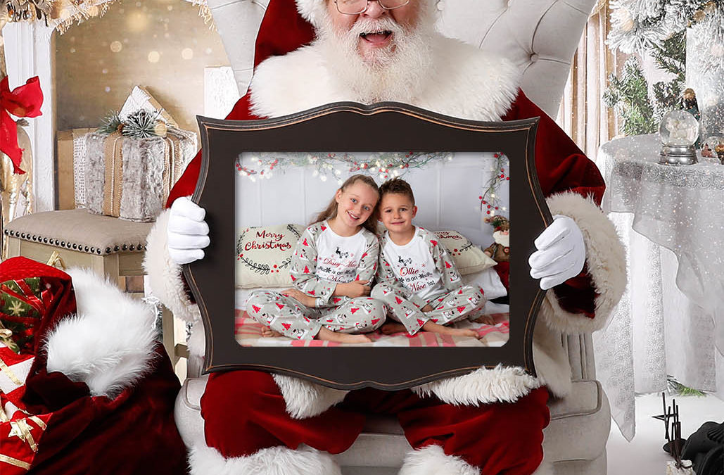 Christmas Family Photos With Santa