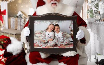 Christmas Family Photos With Santa