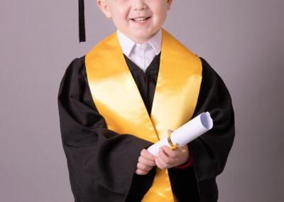Nursery graduation picture